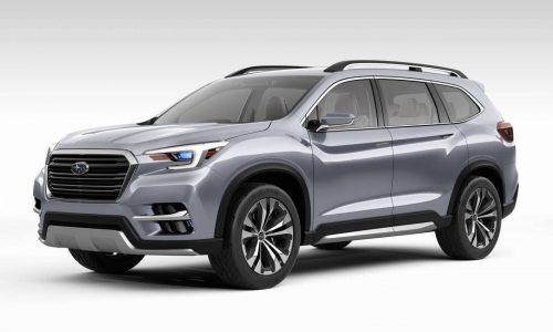 Subaru Ascent concept previews 7-seater for North America
