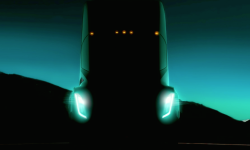 Tesla truck previewed for the first time, debuts September