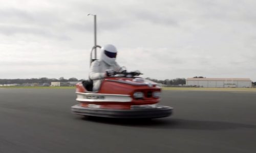 Top Gear's Stig drives dodgem car to world record speed (video)