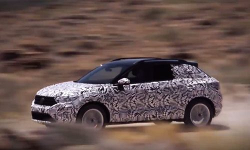 Volkswagen T-Roc previewed as all-new compact SUV (video)
