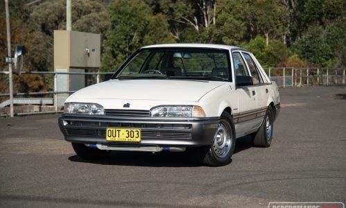 1986 Holden VL Commodore Turbo 0-100km/h & engine sound (video)