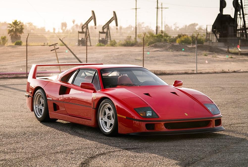 For Sale 1992 Ferrari F40 With Tubi Exhaust Performancedrive