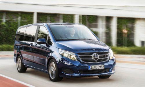 2017 Mercedes-Benz V 220 now on sale in Australia