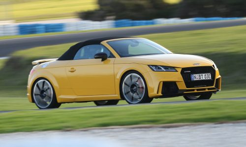 2017 Audi TT RS now on sale in Australia, roadster added
