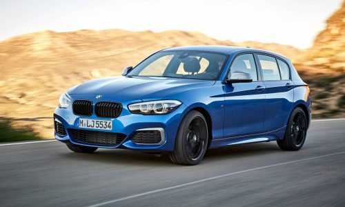 2017 BMW 1 Series update announced, last RWD before FWD model arrives