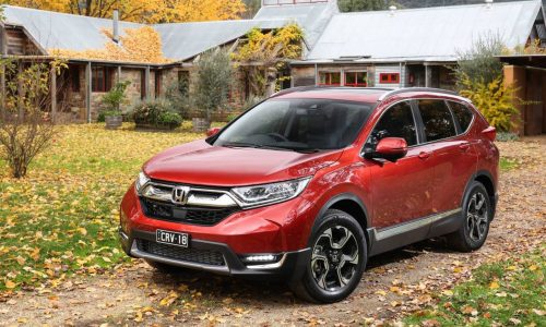 2017 Honda CR-V turbo on sale in Australia from $30,690