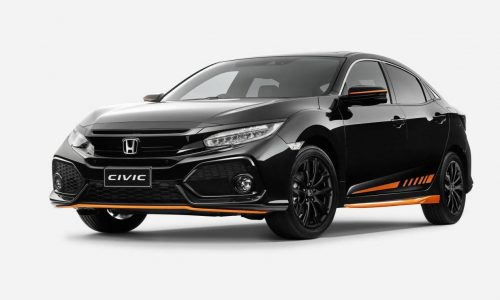 Honda Australia adds Orange Edition & Black Pack to Civic hatch