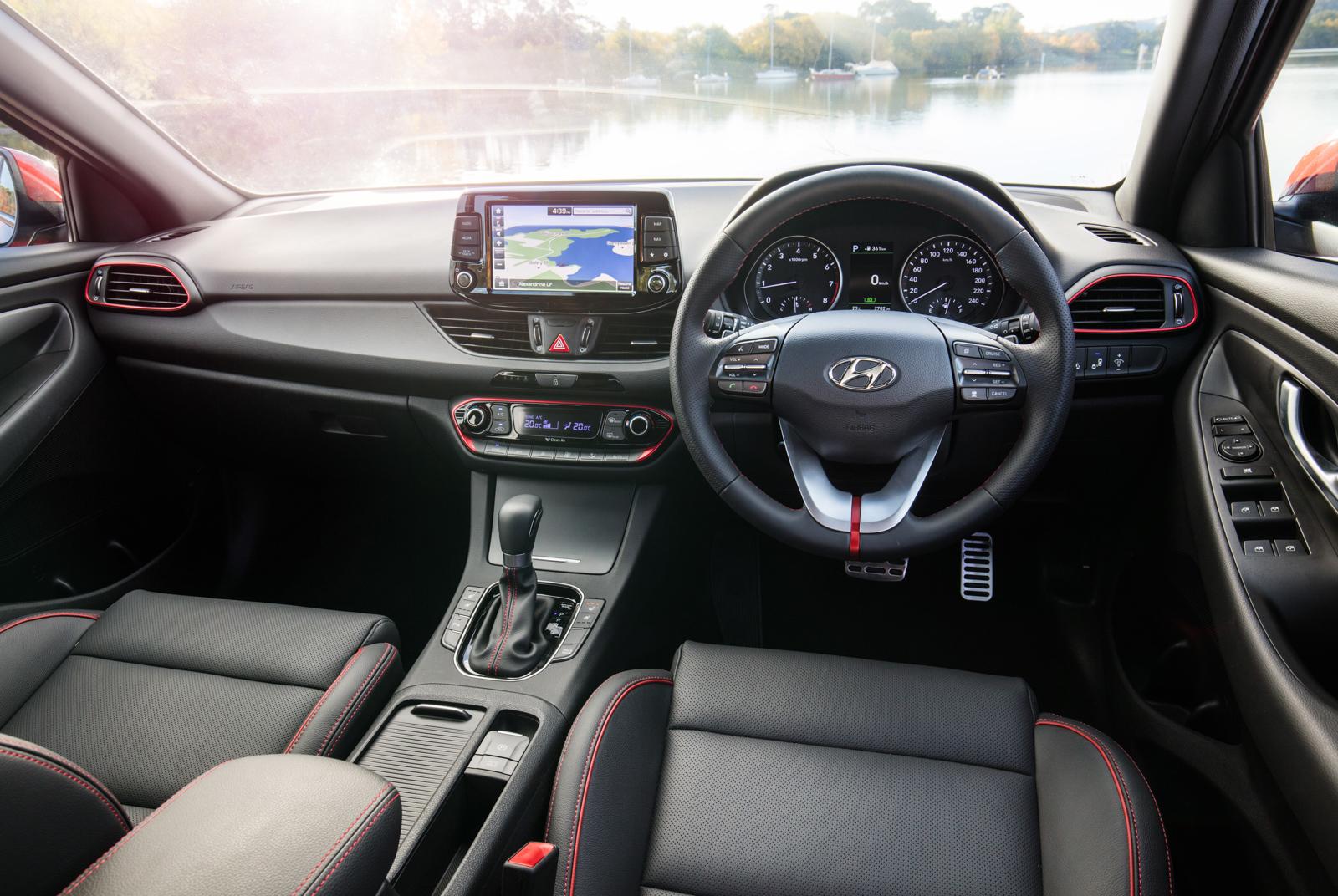 2017 Hyundai i30 SR Premium-interior