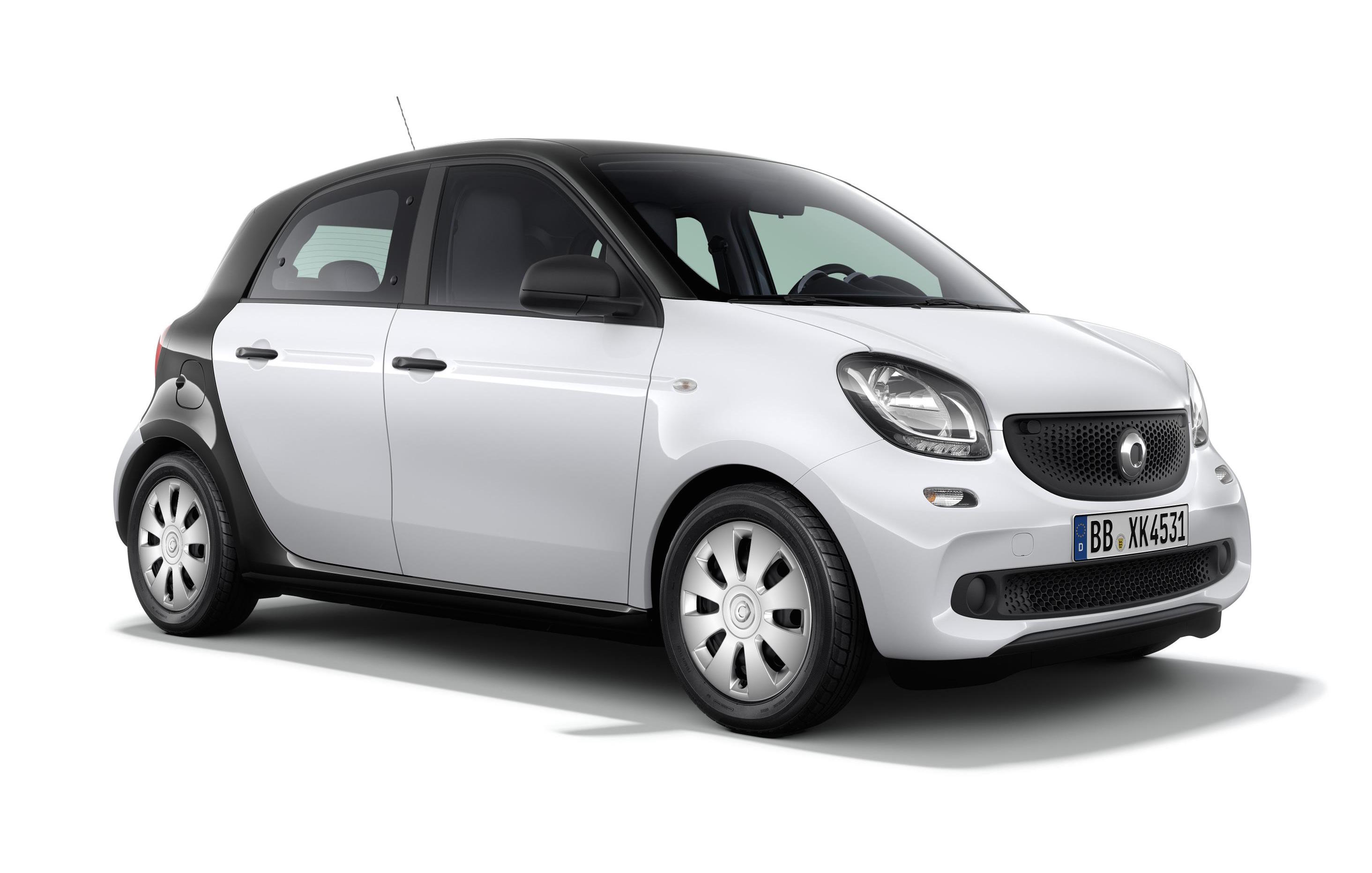 New Smart Fortwo Amp Forfour Pure Editions Announced In Uk