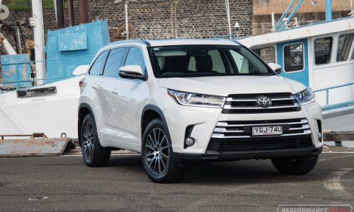 2017 Toyota Kluger Grande AWD review (video)