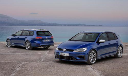 2017 Volkswagen Golf R Australian prices announced, wagon added