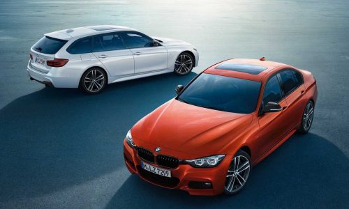 BMW 3 Series Edition Sport & Luxury announced with 2018 update