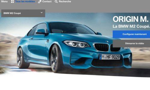 2018 BMW M2 facelift revealed on Belgian website