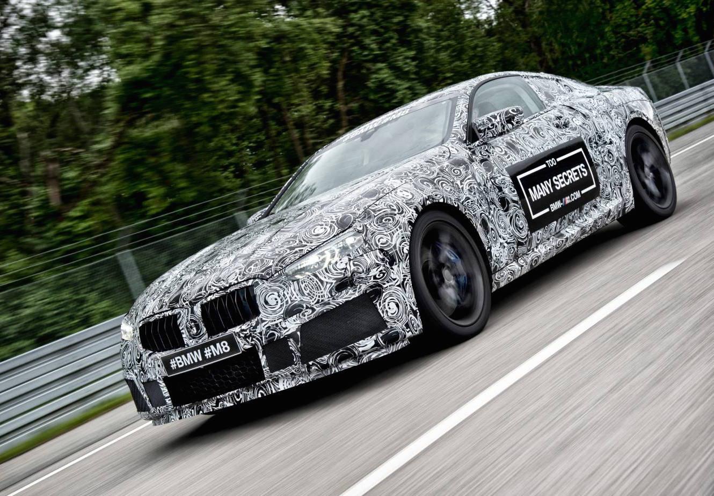 2018 BMW M8 Prototype