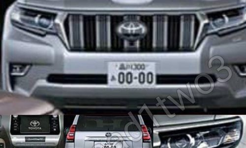 Is this the new 2018 Toyota LandCruiser Prado?