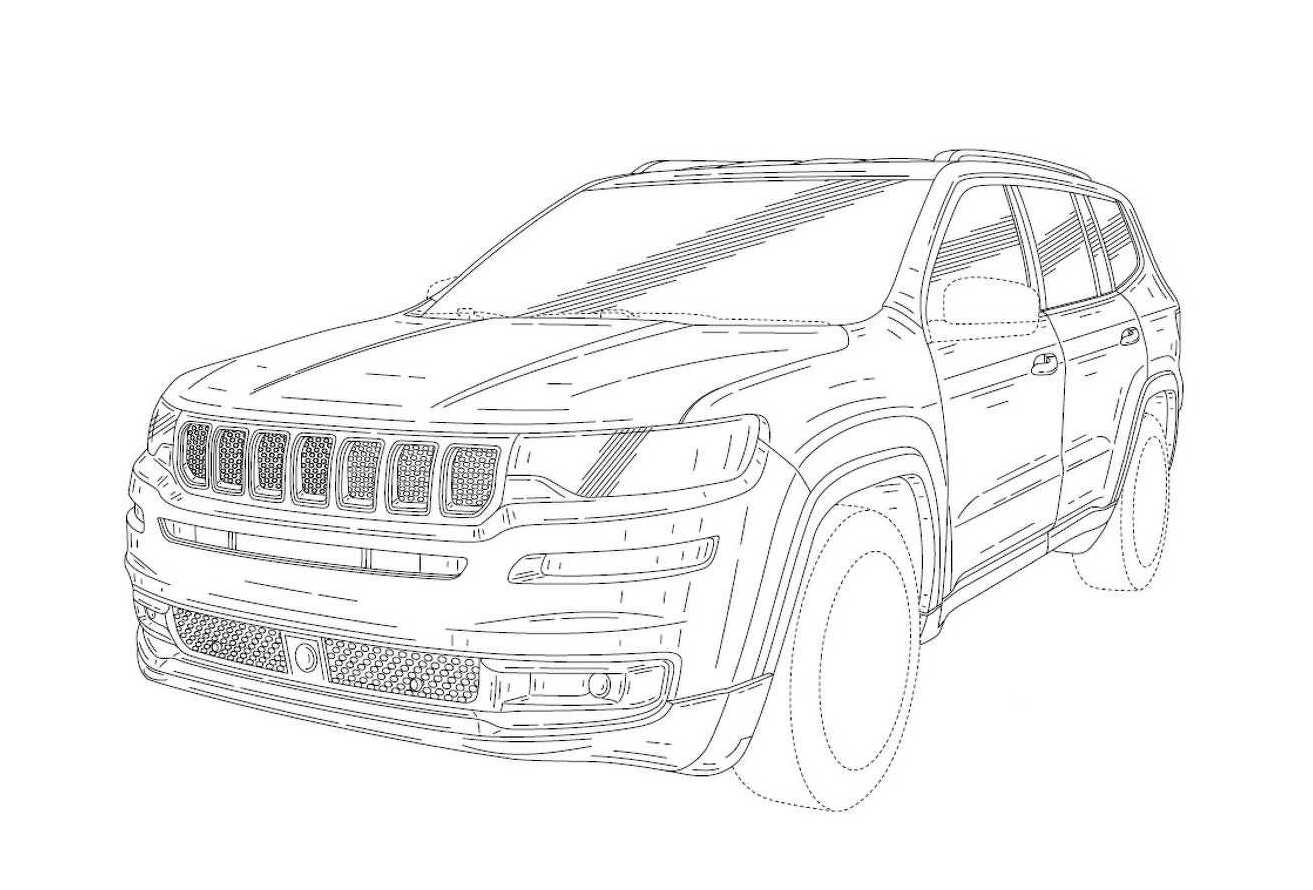 2019 Jeep Wagoneer patent images found, revealing new 7 ...