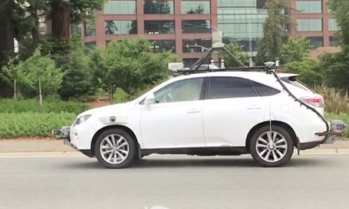 Apple spotted testing autonomous tech in California (video)