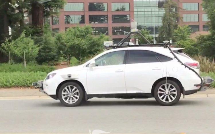 Apple spotted testing autonomous tech in California (video) | PerformanceDrive