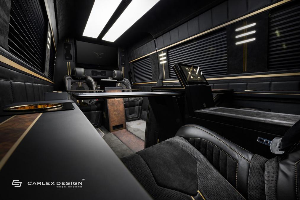 Carlex Mercedes Benz Jet Van Converts Sprinter Into First