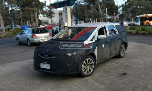 Geely spotted testing MPV prototype in Australia