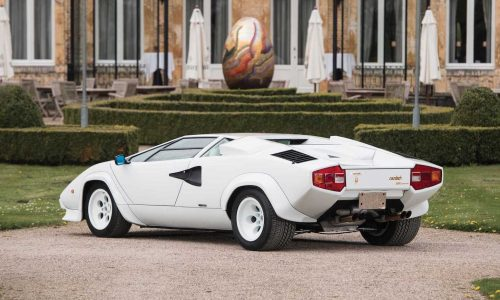 For Sale: Gold-plated Lamborghini Countach going up for auction