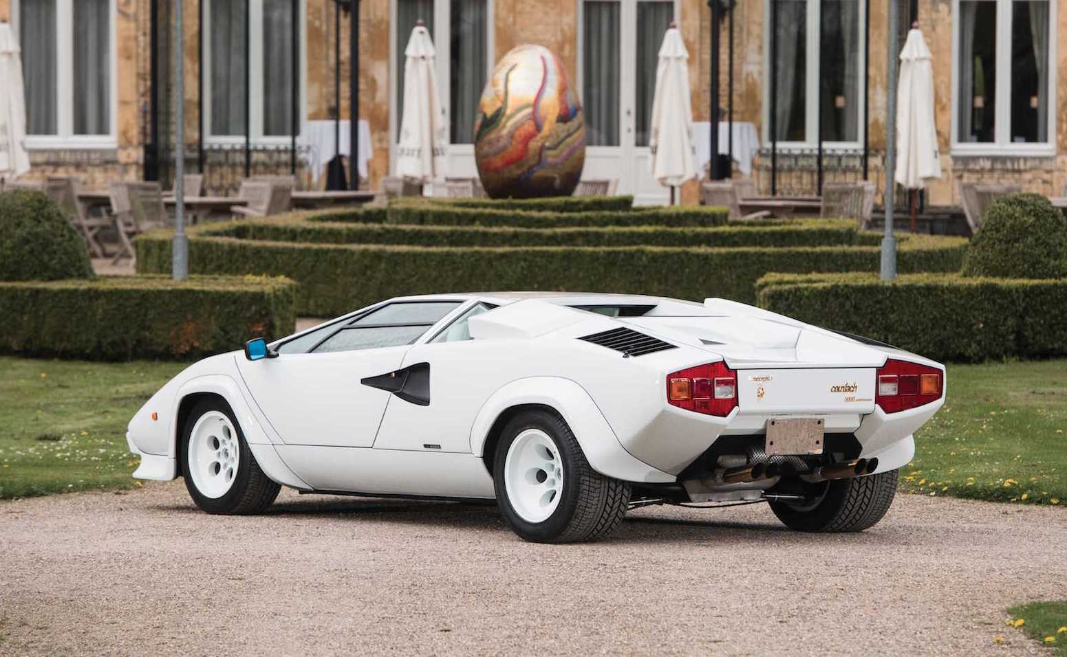 For Sale Gold Plated Lamborghini Countach Going Up For