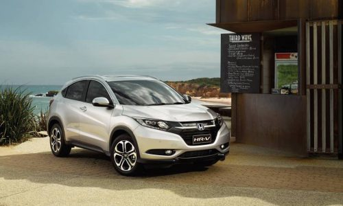MY2017 Honda HR-V now on sale in Australia