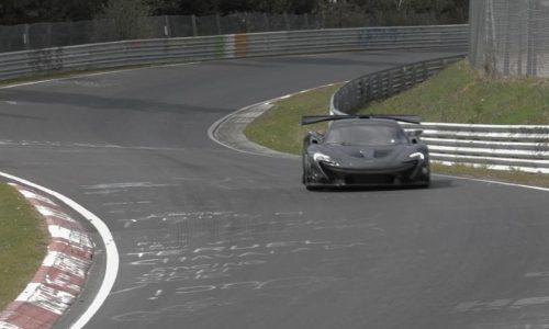 McLaren P1 LM resets Nurburgring production car lap record (video)