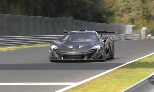 McLaren P1 LM going for the Nurburgring lap record? (video)