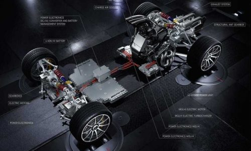 Mercedes-AMG Project One hypercar powertrain revealed