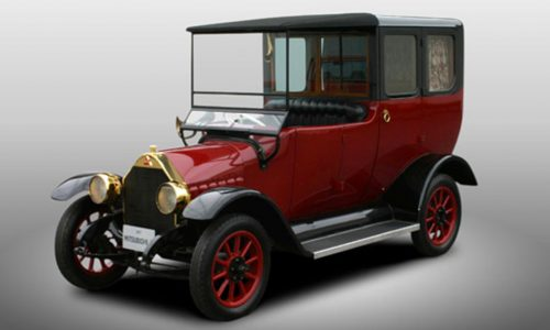 Mitsubishi celebrates 100 years, gives first Model A a PHEV conversion