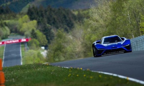 Electric Nio EP9 breaks Nurburgring lap record