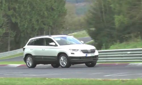 Skoda Karoq revealed via undisguised prototype, confirms crossover shape (video)