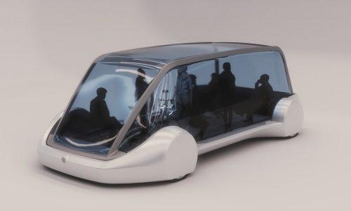 Musk's 'Boring Company' reveals boring-looking transit pod