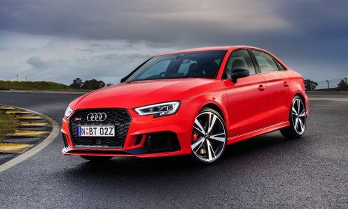 New Audi RS 3 Sedan now on sale in Australia from $84,900
