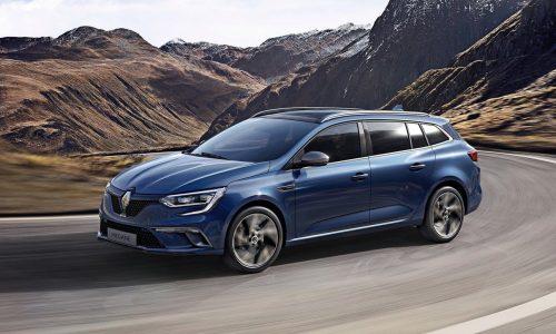 2017 Renault Megane wagon & sedan now on sale in Australia