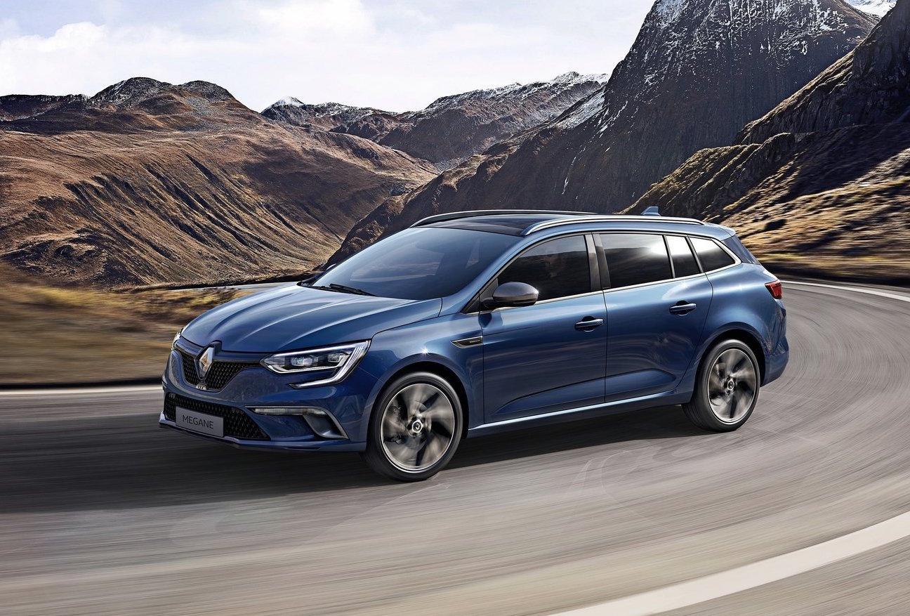 Renault megane wagon 2017