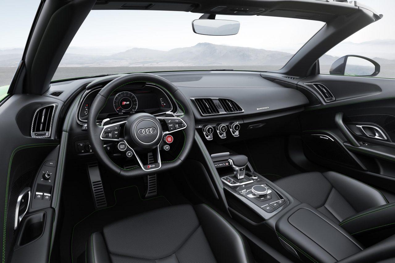 2018 Audi R8 Spyder V10 Plus unveiled | PerformanceDrive