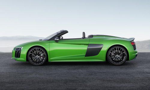 2018 Audi R8 Spyder V10 Plus unveiled