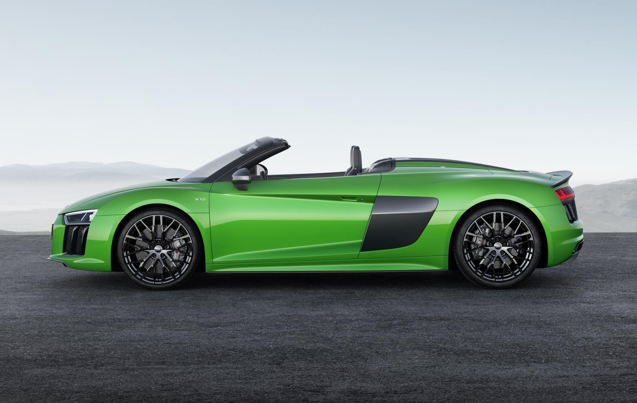 New Audi R8 2018 >> 2018 Audi R8 Spyder V10 Plus unveiled | PerformanceDrive