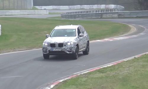 2018 BMW X3 'M40i' prototype spotted, nice exhaust note (video)