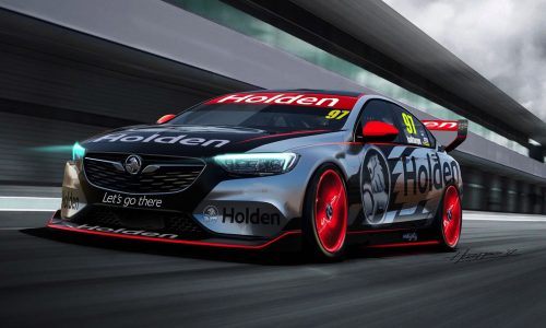 2018 Holden Commodore Supercar race car revealed