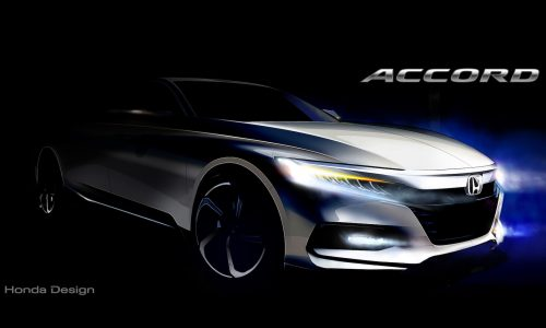 2018 Honda Accord previewed with design sketch