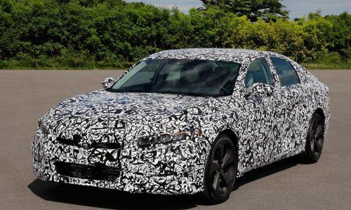 2018 Honda Accord 1.5L & 2.0L turbo engines confirmed