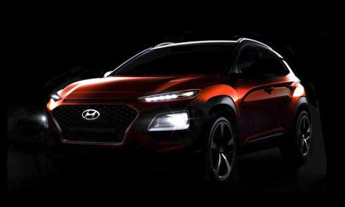 Hyundai Kona previewed one last time, debuts June 12