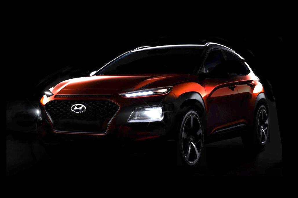 Hyundai Kona Previewed One Last Time Debuts June 12