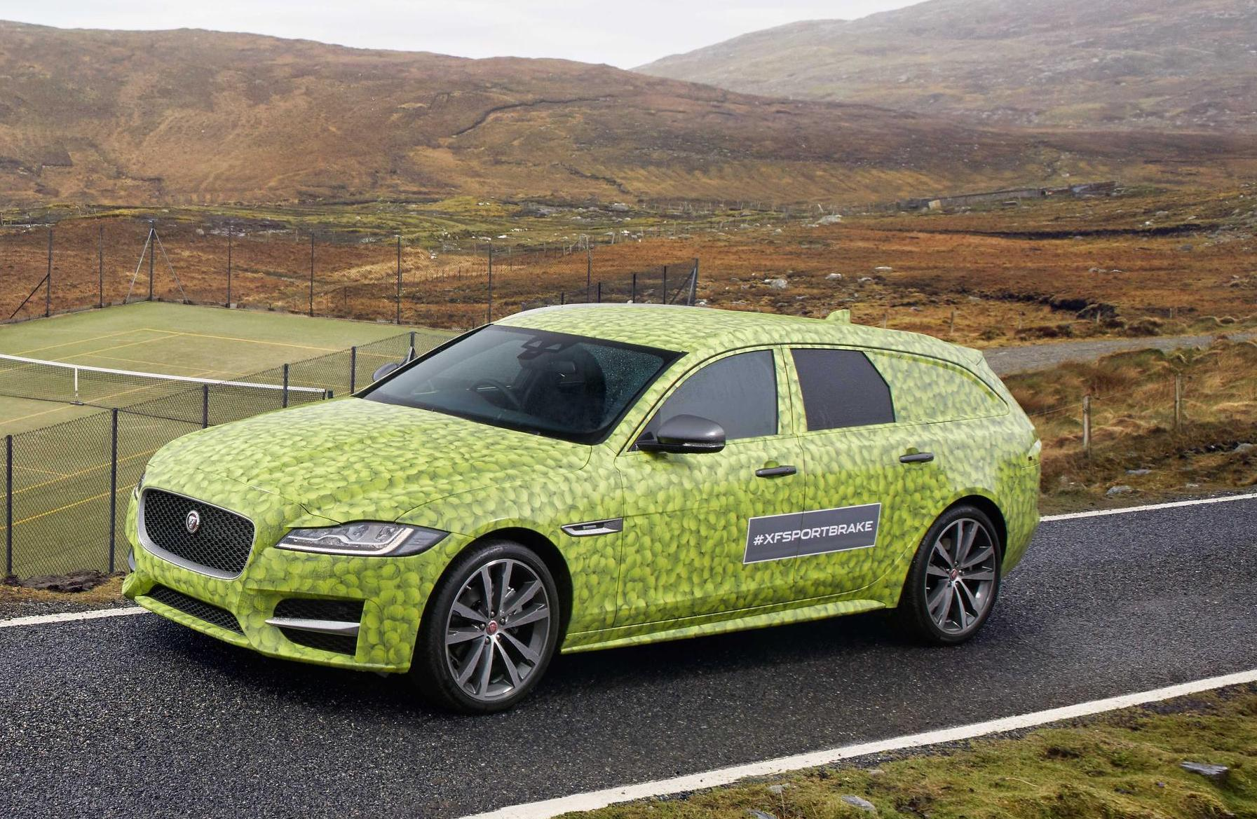 2018 Jaguar XF Sportbrake debut coincides with XF's 10th birthday