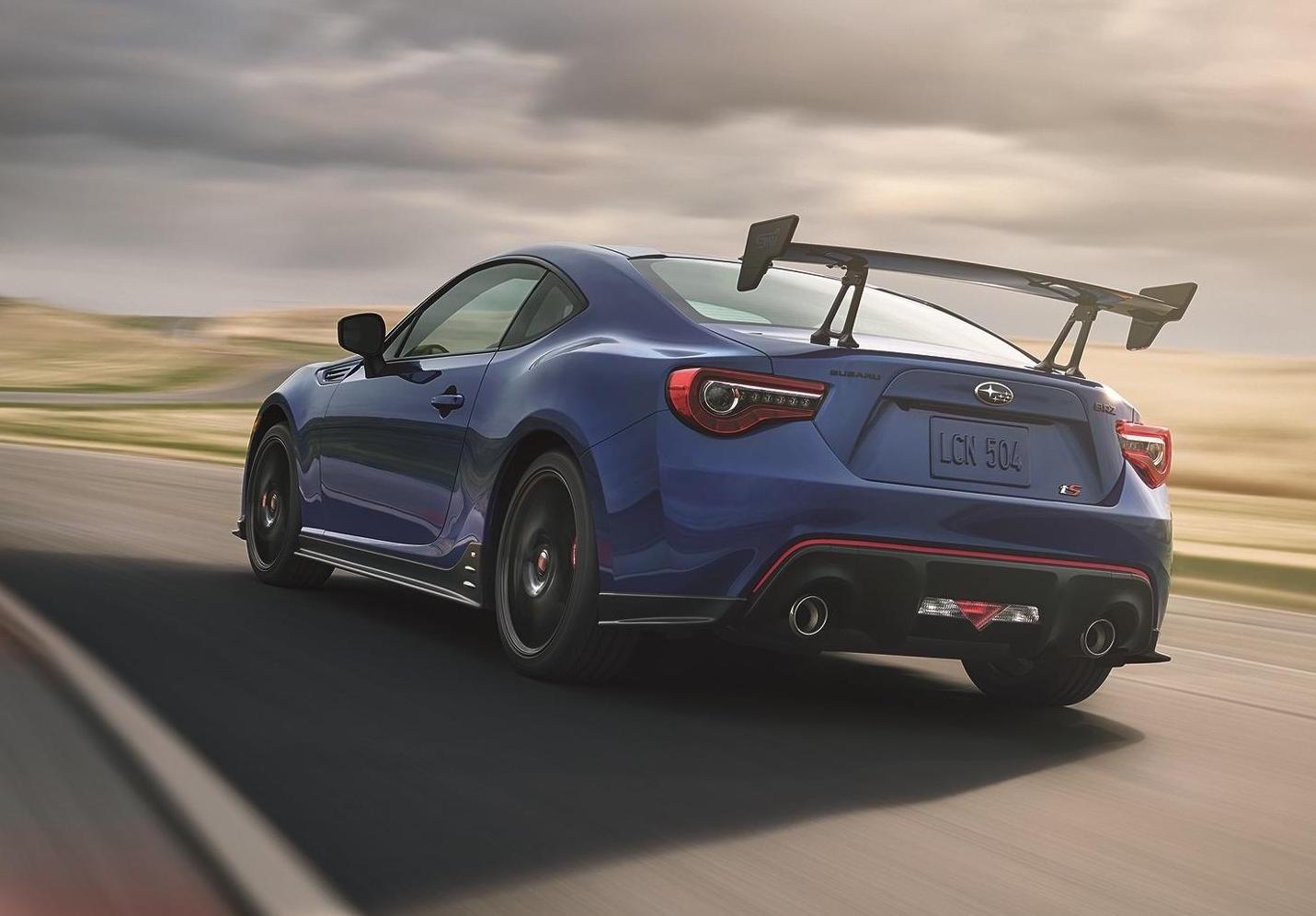 2018 Subaru BRZ tS by STI revealed, for US market ...
