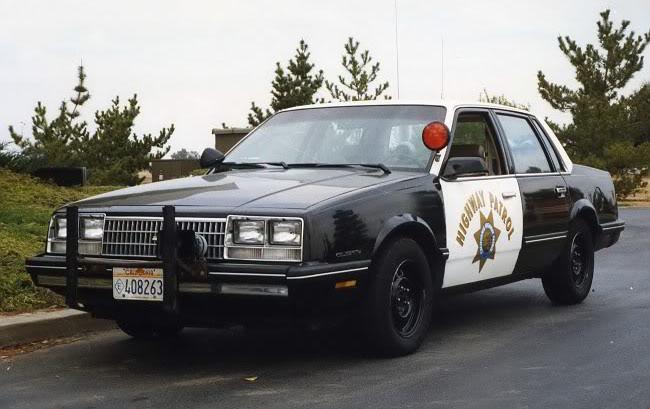Chevrolet Celebrity Police Car