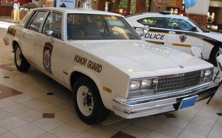 Top 10 Boxy Us Police Cars Of The 1980s Performancedrive